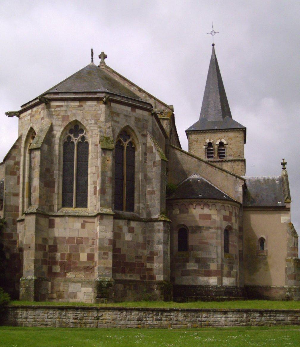 ancienne eglise collegiale saint leger marsal